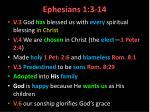 ephesians 1 3 14