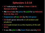 ephesians 1 3 141