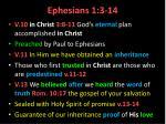 ephesians 1 3 142