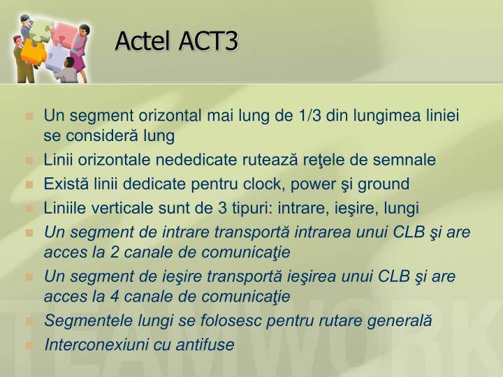 Actel ACT3