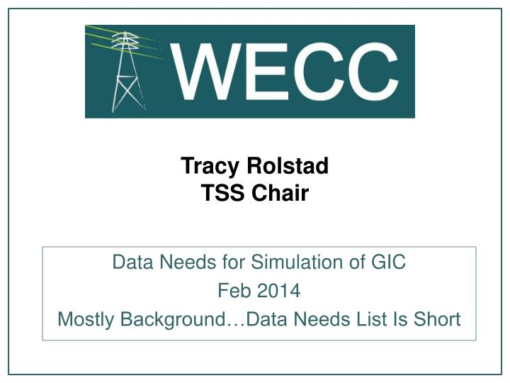 tracy rolstad tss chair n.
