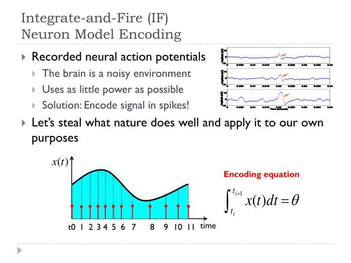 Encoding equation