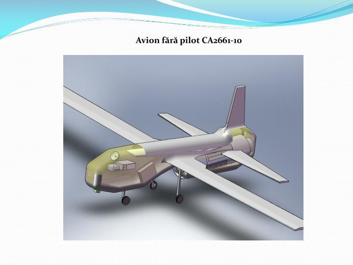 Avion fără pilot CA2661-10