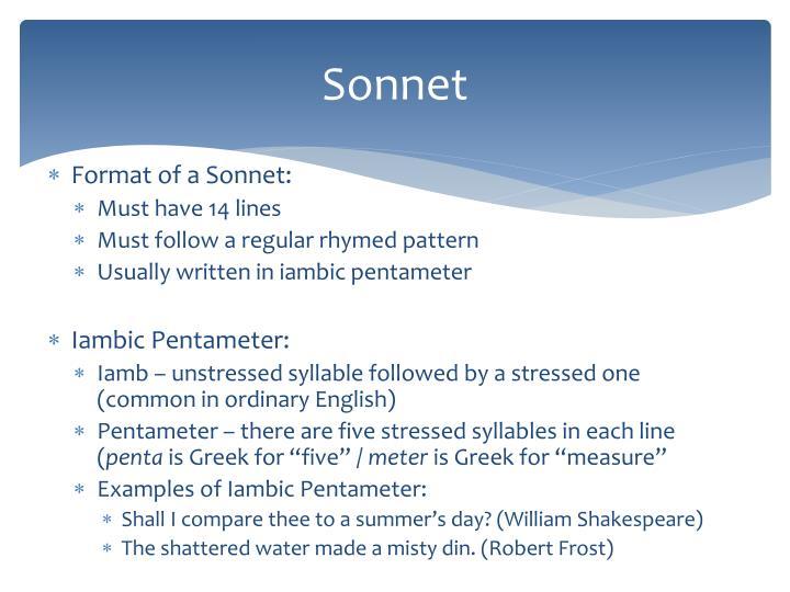 ppt sonnet powerpoint presentation id 1982932