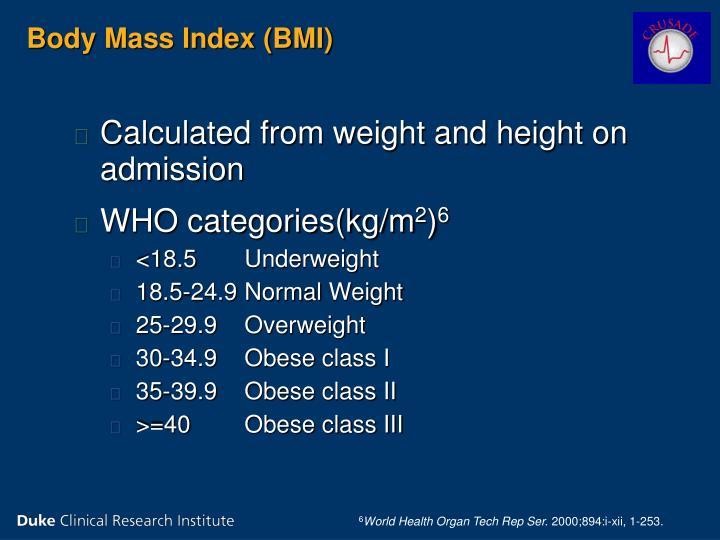 Body Mass Index (BMI)
