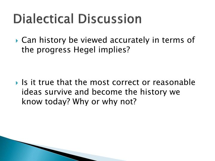 Dialectical Discussion