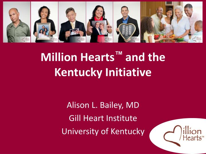 million hearts and the kentucky initiative n.