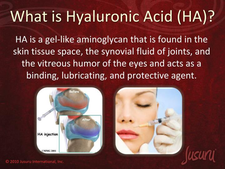 What is Hyaluronic Acid (HA)?