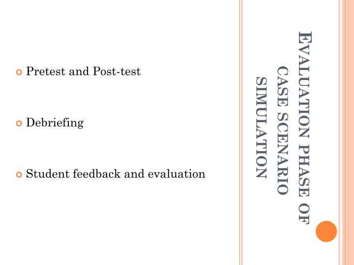 Pretest and Post-test
