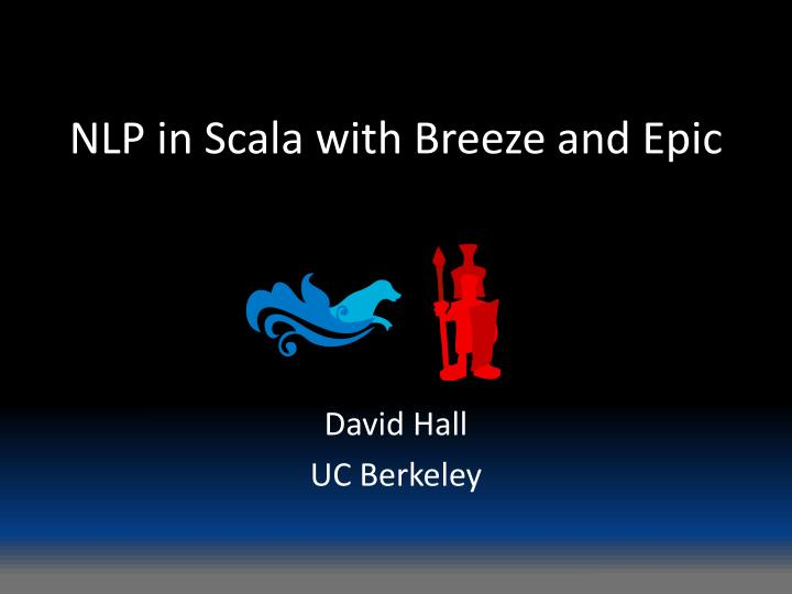 nlp in scala with breeze and epic n.