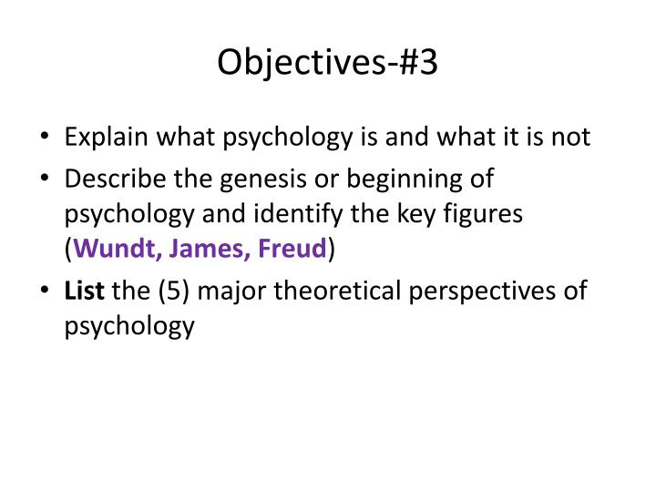 list the five perspectives of psychology and the subfields Major perspectives in modern psychology the early years of psychology were marked by the domination of a succession of different schools of thought if you have ever taken a psychology.