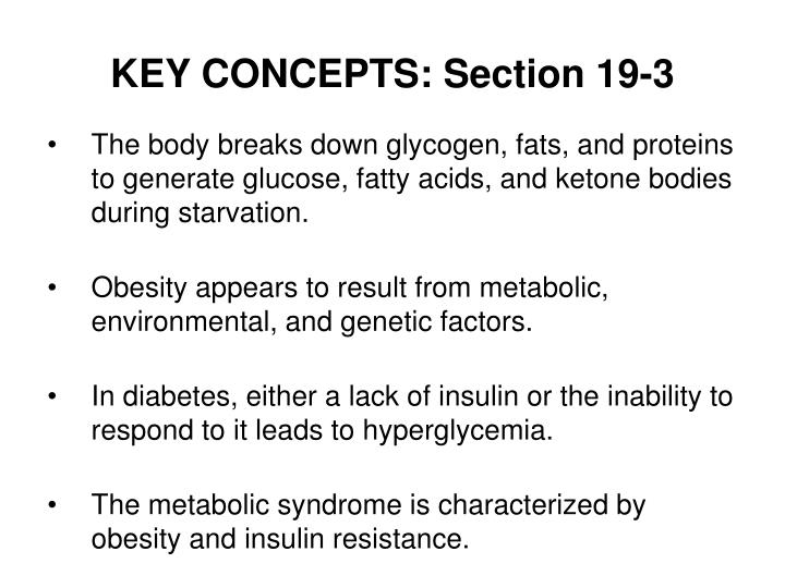 KEY CONCEPTS: Section 19-3