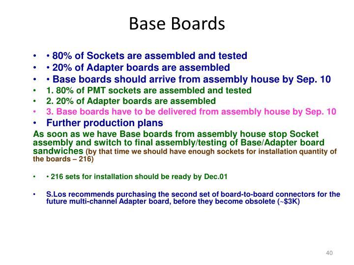 Base Boards