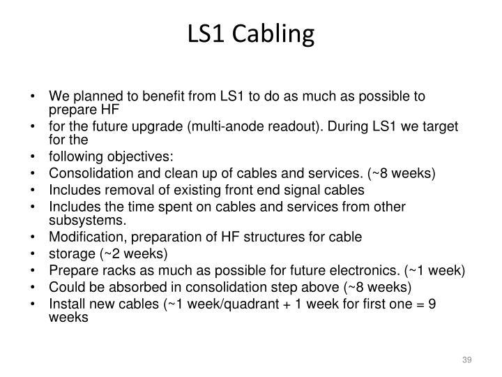 LS1 Cabling