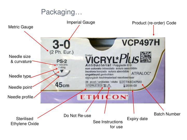 Packaging…