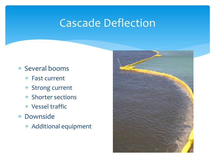Cascade Deflection