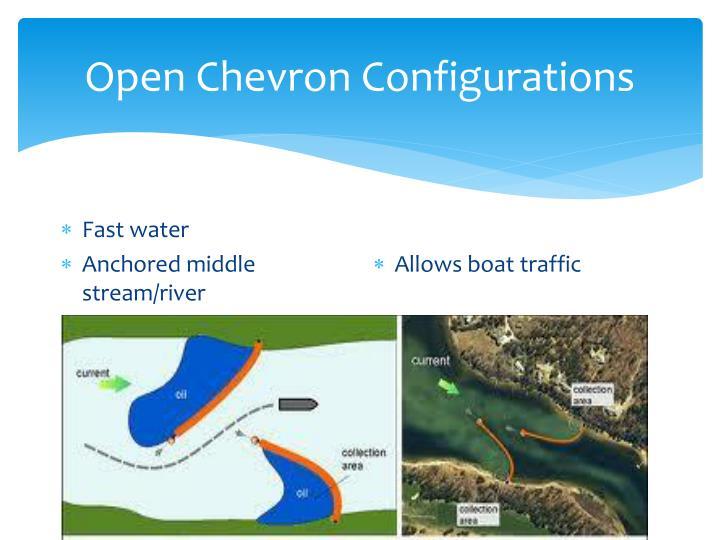 Open Chevron Configurations