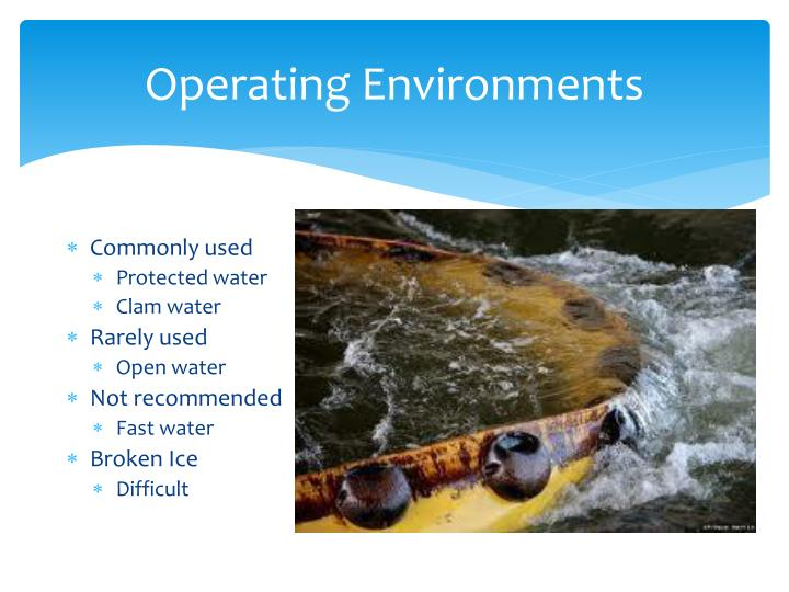 Operating Environments