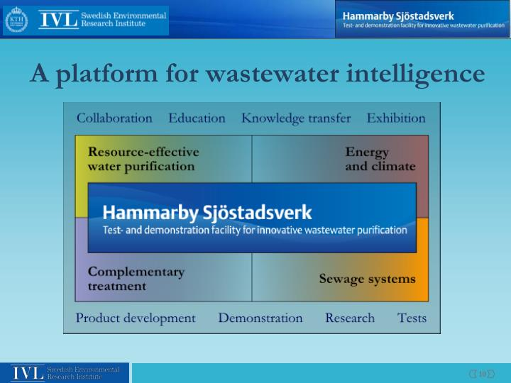 A platform for wastewater intelligence