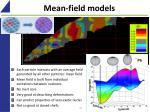 mean field models