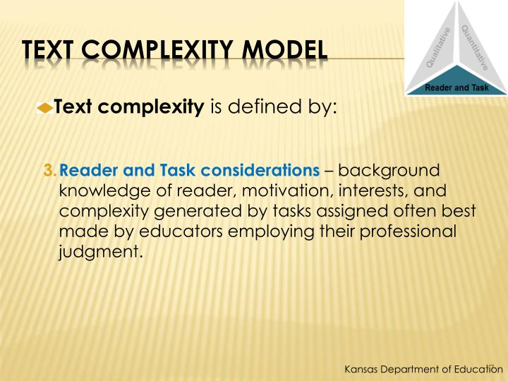 Text Complexity Model