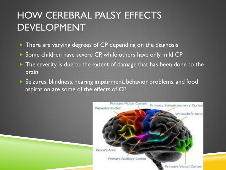 cerebral palsy and the effects on To evaluate the effects of riding for beginners (short-term) and advanced (long- term) riders with cerebral palsy on their whole mobility.