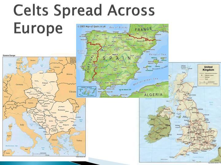 Celts Spread Across Europe