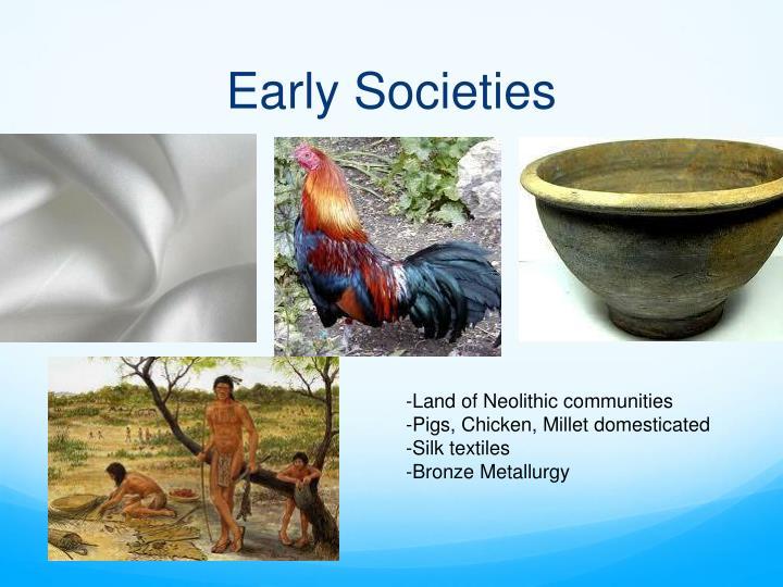 Early Societies