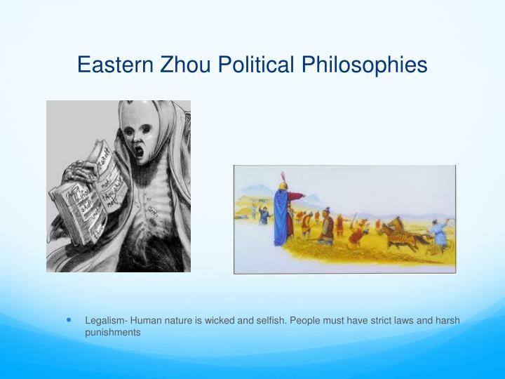 Eastern Zhou Political Philosophies
