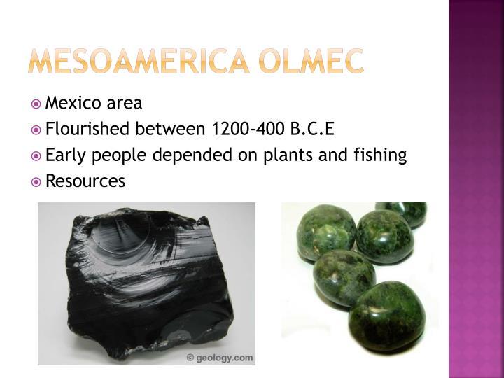 Mesoamerica Olmec