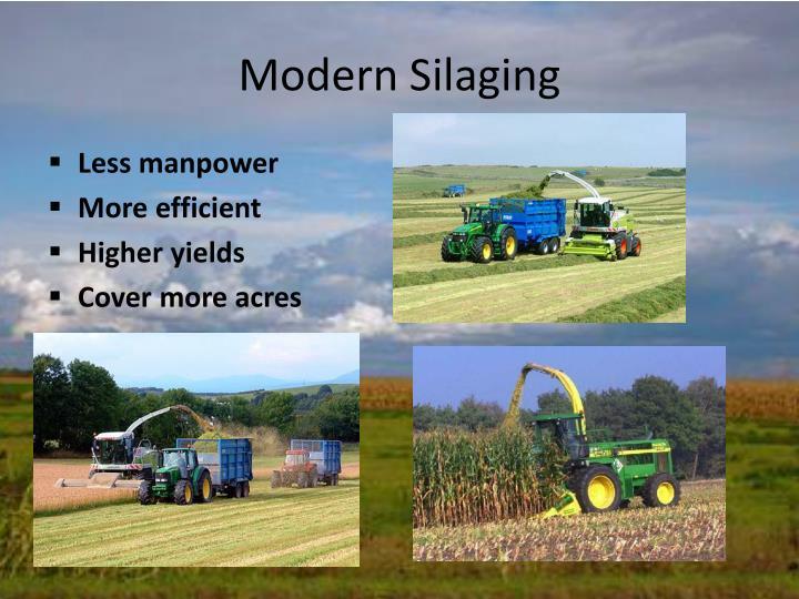 Modern Silaging