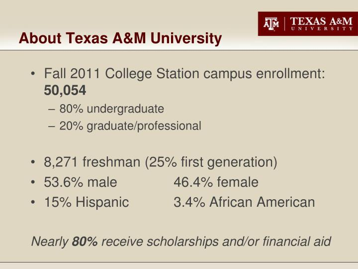texas a&m freshman application essay Texas a&m university has the top graduation rates among texas colleges, with more than 49,000 undergraduates choosing from nearly 140 degree programs skip navigation texas a&m university find info for: future students   undergraduate admissions.