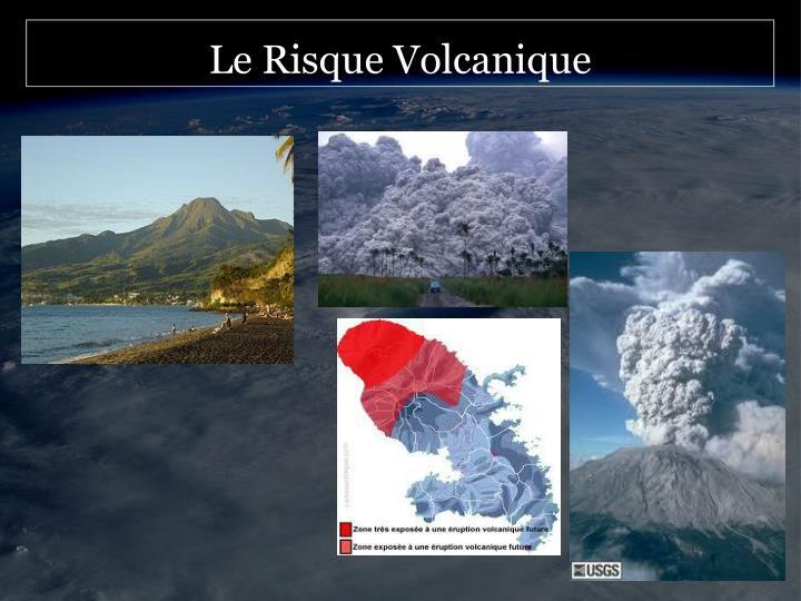 Le Risque Volcanique