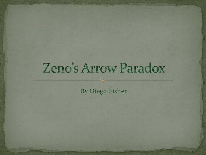 zeno s arrow paradox n.