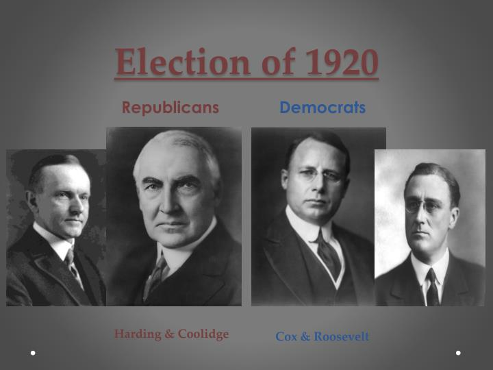 the republican policies of the 1920s essay Essay on the topic of usa society in the 1920s-1940s the topic is based on the question of the effect of republican economic policies in the 1920s to the great depression highly detailed and includes feedback in red received 23/25 for it.