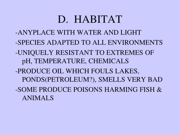 D.  HABITAT