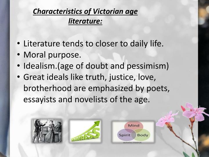 the victorian age in literature essay Female social roles in victorian and modern literature english literature essay who have professions since victorian age in the literary work of charlotte.