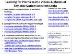 learning for prerna team videos photos of key observations on gram sabha