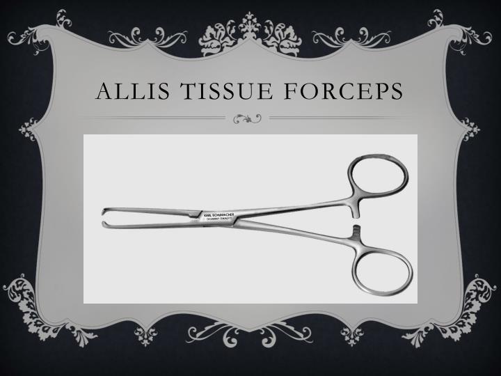 Allis tissue forceps