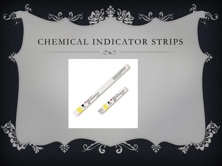 Chemical Indicator Strips