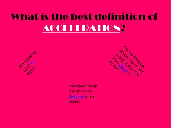 What is the best definition of
