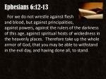 ephesians 6 12 13