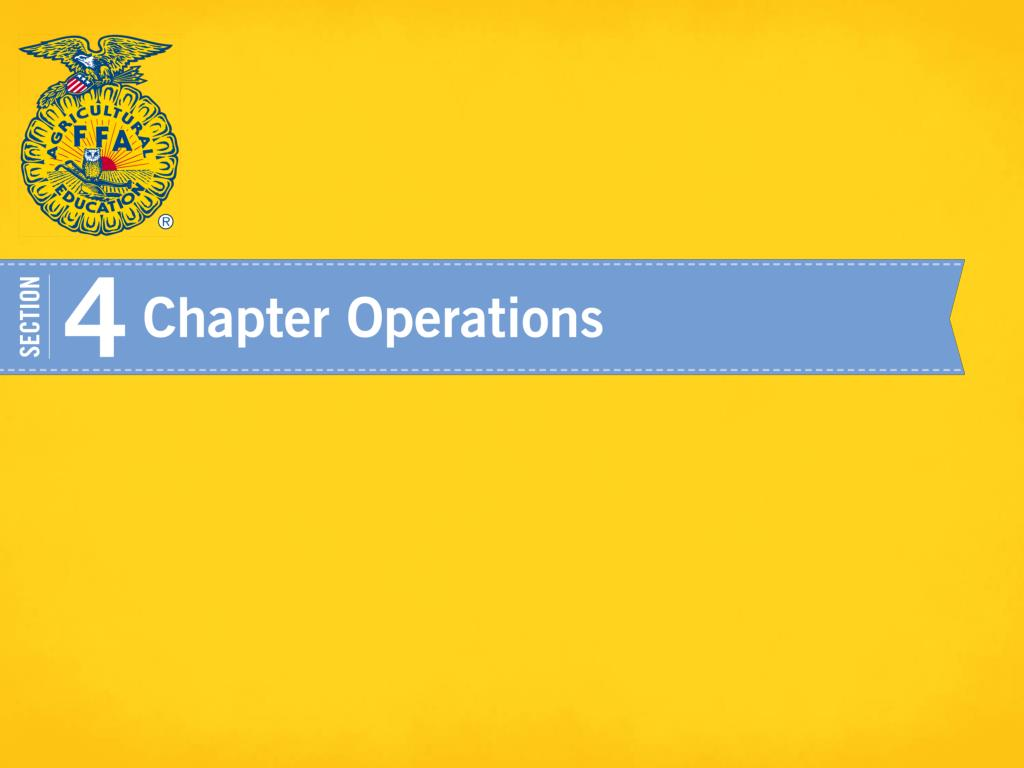 Essentials Of A Successful Ffa Chapter Powerpoint Ppt Presentation