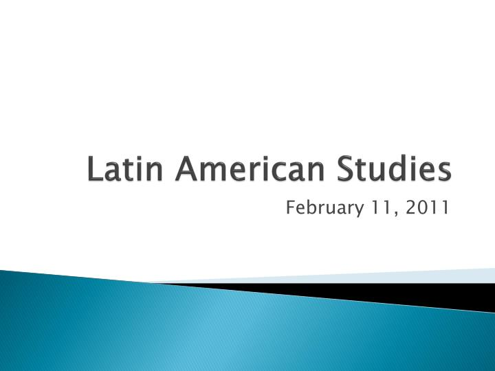 latin american studies thesis The latin american and latino studies program at the university of illinois at chicago is accepting applications for the fall 2019 master of arts degree program an interdisciplinary program our program offers an interdisciplinary perspective to the study of both latin american societies and latinos living in the united states.