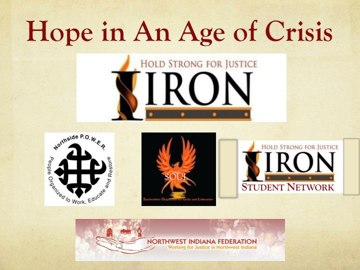 hope in an age of crisis n.
