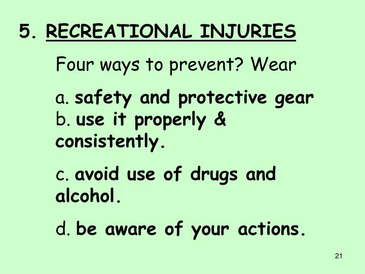 intentional and unintentional injuries