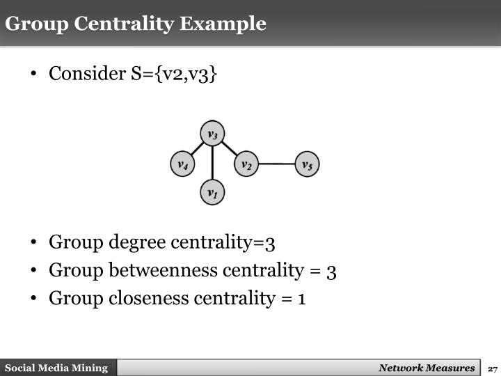Group Centrality Example