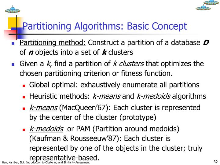 Partitioning Algorithms: Basic Concept