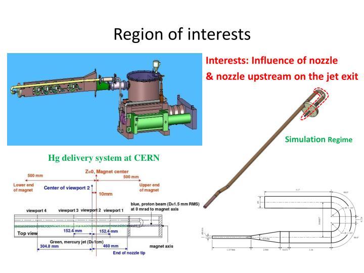 Region of interests