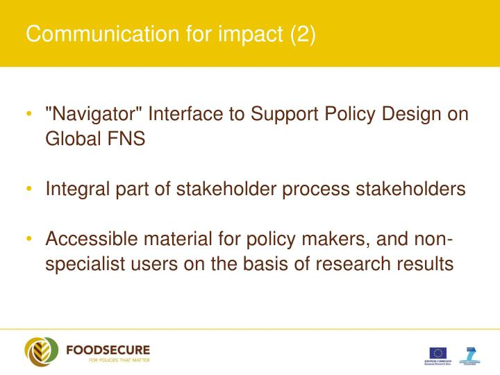 Communication for impact (2)